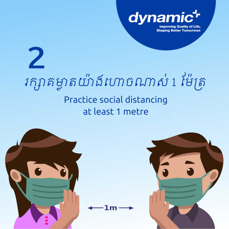 Stay safe & healthy during Pchum Ben Days
